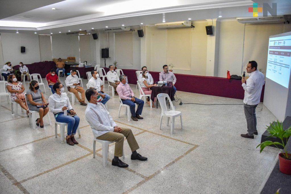 Alcaldes de la zona sur se reunieron con el titular de Sefiplan